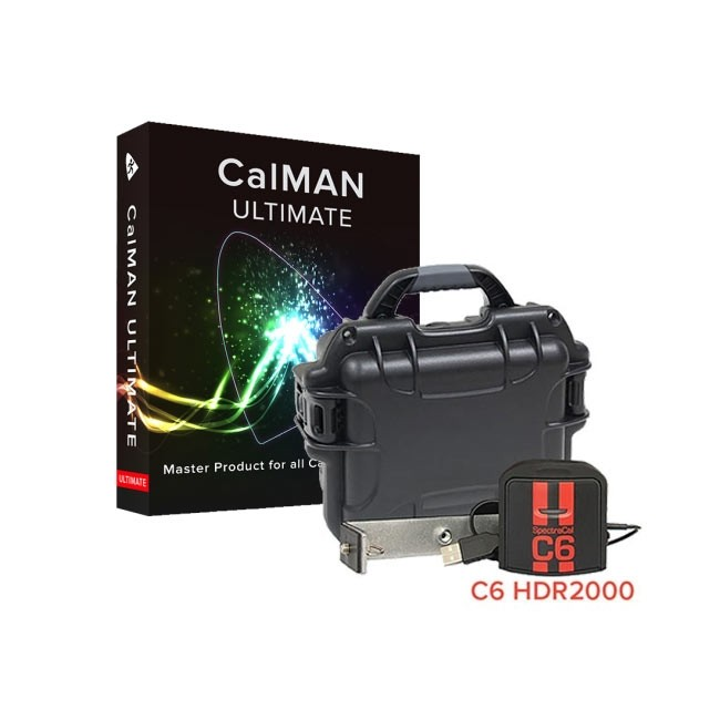 SpectraCal CalMAN Ultimate with SpectraCal C6 HDR2000