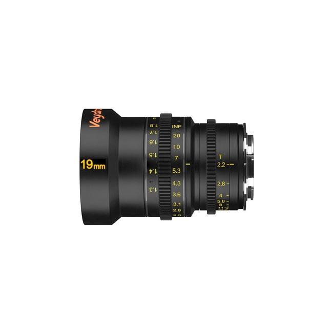 Veydra 19mm T2.6 Mini Prime Lens (MFT Mount, Feet)