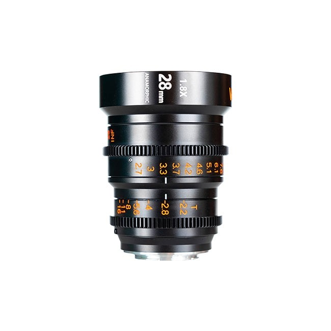 Vazen 28mm T/2.2 1.8X Anamorphic Lens for Canon RF Cameras