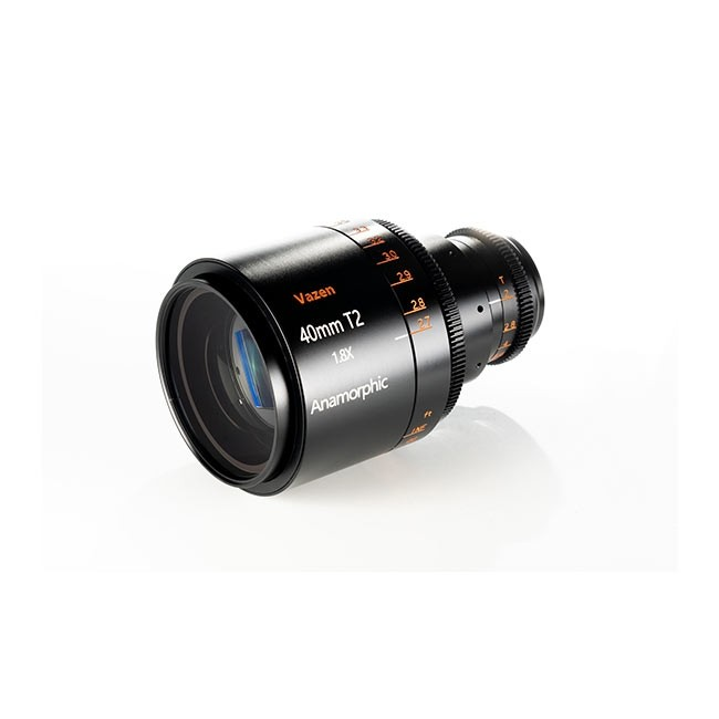 Vazen 40mm T/2 1.8X Anamorphic Lens for Canon RF cameras
