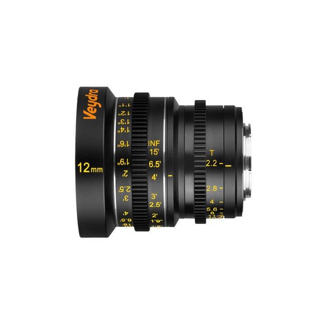 Veydra Mini Prime 12mm T2.2 M4/3 (Metric Focus Scale)