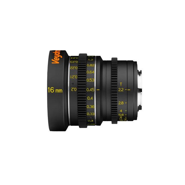 Veydra Mini Prime 16mm T2.2 M4/3 (Metric Focus Scale)