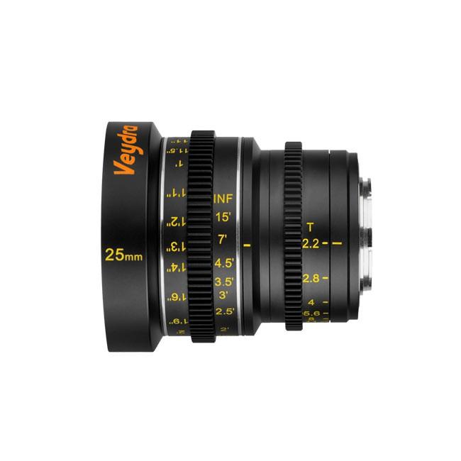 Veydra Mini Prime 25mm T2.2 M4/3 (Imperial Focus Scale)