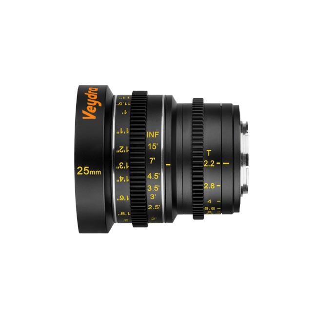 Veydra Mini Prime 25mm T2.2 M4/3 (Metric Focus Scale)