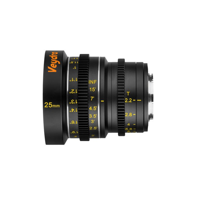 Veydra Mini Prime 25mm T2.2 Sony E Mount (Imperial Focus Scale)