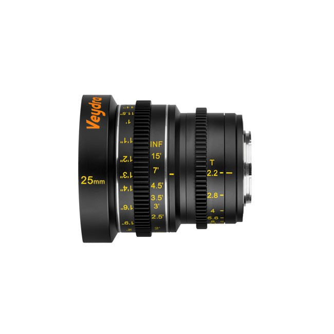 Veydra Mini Prime 25mm T2.2 Sony E Mount (Metric Focus Scale)