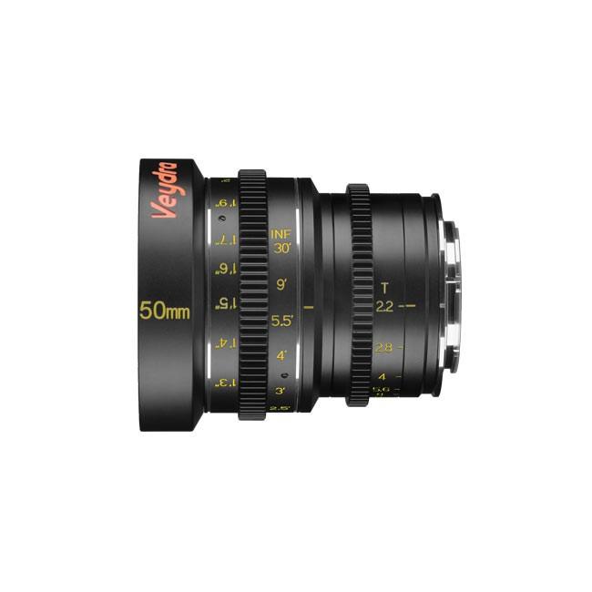 Veydra Mini Prime 50mm T2.2 M4/3 (Imperial Focus Scale)