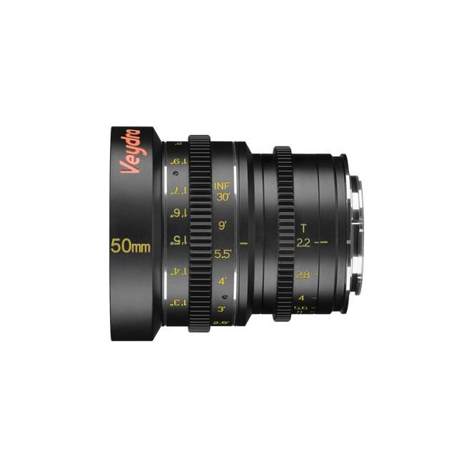 Veydra Mini Prime 50mm T2.2 M4/3 (Metric Focus Scale)