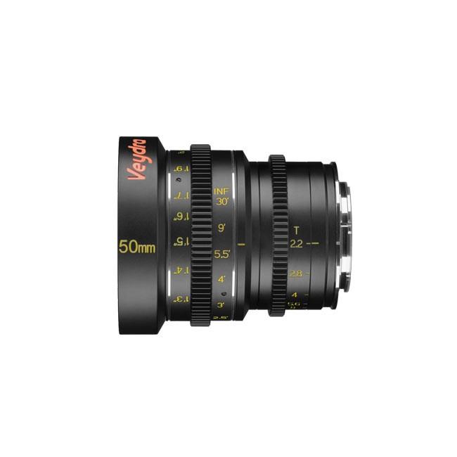 Veydra Mini Prime 50mm T2.2 Sony E Mount (Imperial Focus Scale)