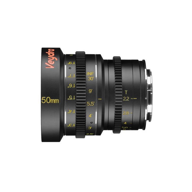 Veydra Mini Prime 50mm T2.2 Sony E Mount (Metric Focus Scale)