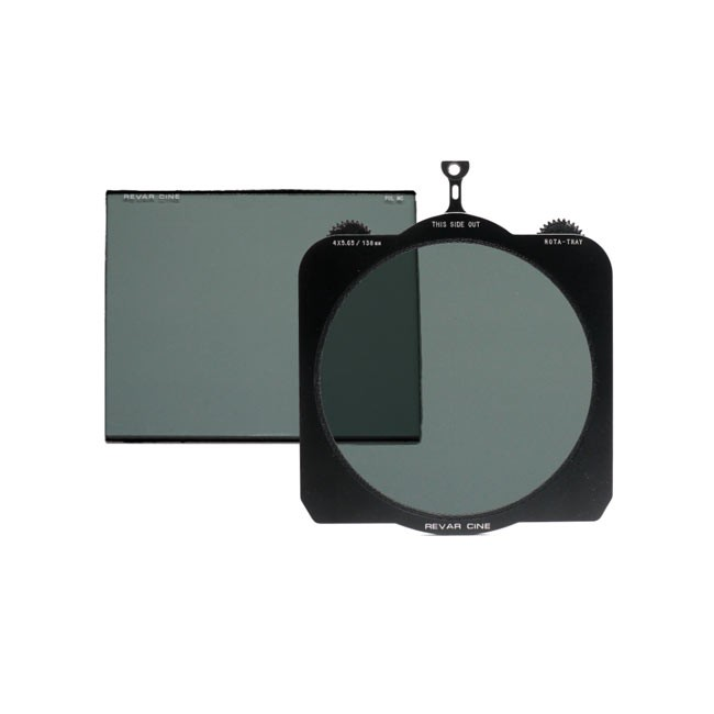 Veydra Revar Cine Rota-Tray 4x5.65Revar Cine Rota-Tray 4x5.65/138mm Variable ND Kit with Circular Polarizer and 4x5.65 Linear Pol MC