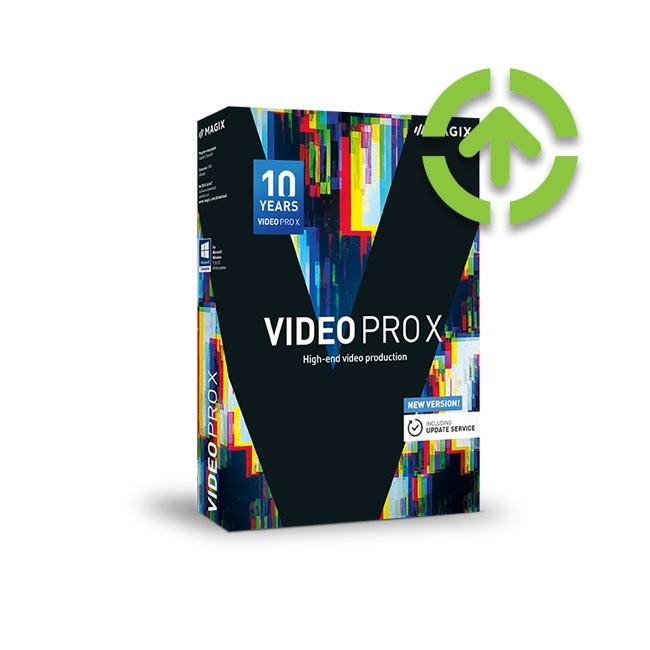 Magix Video Pro X 10 (Upgrade from Older Version) ESD