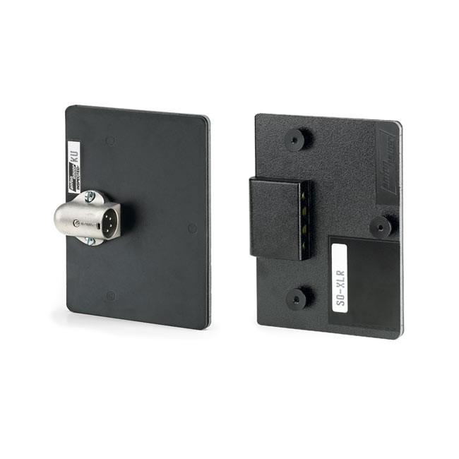 Anton Bauer SO-XLR Gold Mount to Accept a Standard 4p XLR Connector