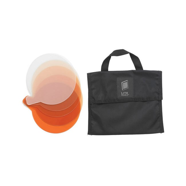Litepanels Sola 4 5-Piece CTO Gel Set with Gel Bag