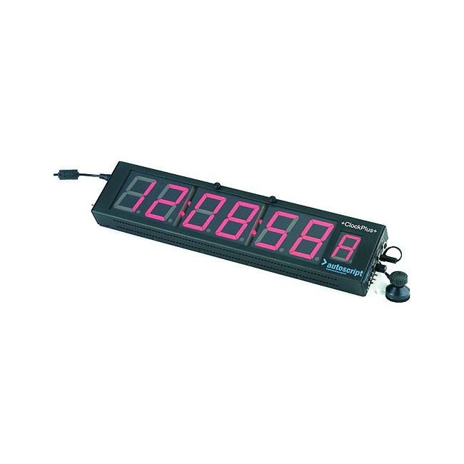 Autoscript Clock Plus LED Timecode Display