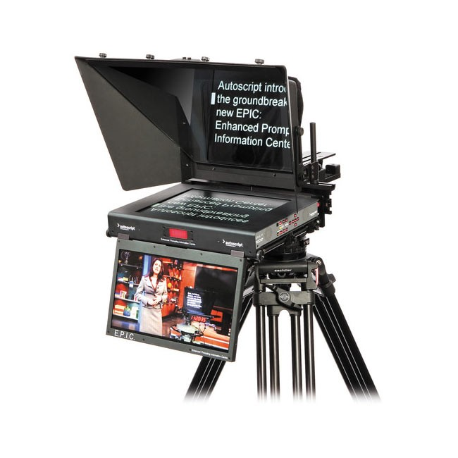 "Autoscript E.P.I.C 17"" Dual Monitor Teleprompter Screen"
