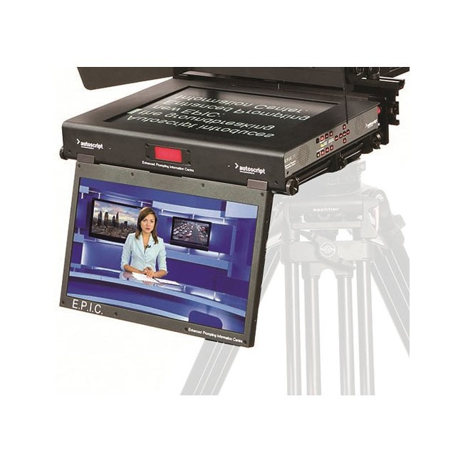 "Autoscript E.P.I.C 19"" Dual Monitor Teleprompter Screen"