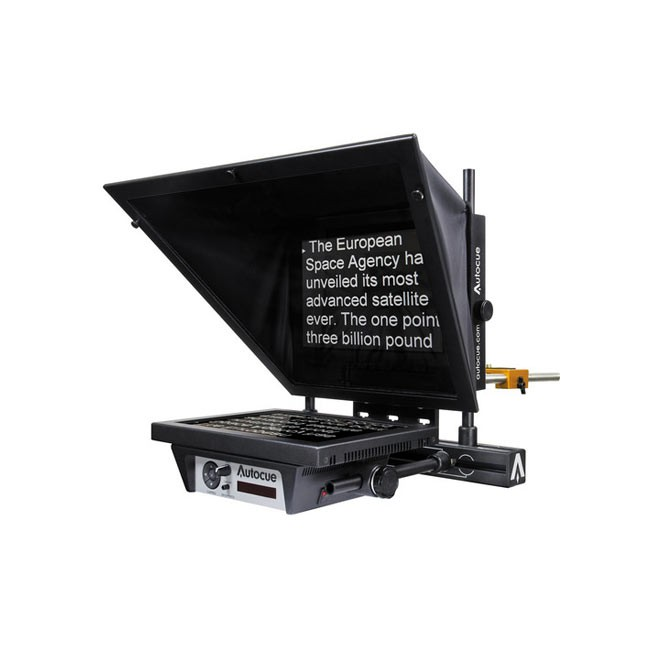 """Autocue MSP12 Master Series 12"""" Prompter with Folding Hood & Case"""