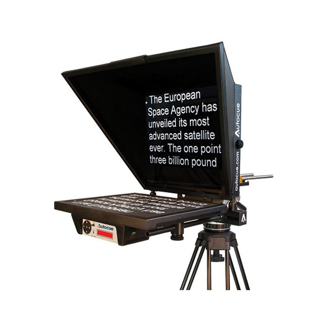 """Autocue Master Series 17"""" Teleprompter"""