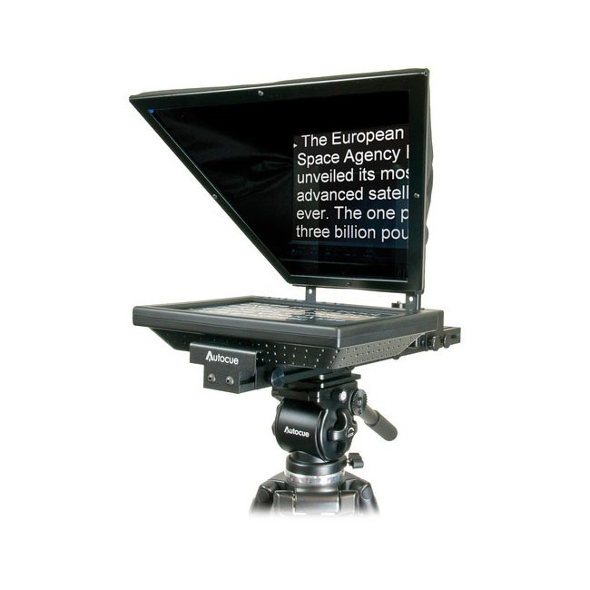 "Autocue QTV Starter Series Lite 10"" Teleprompter Package and Qstart"