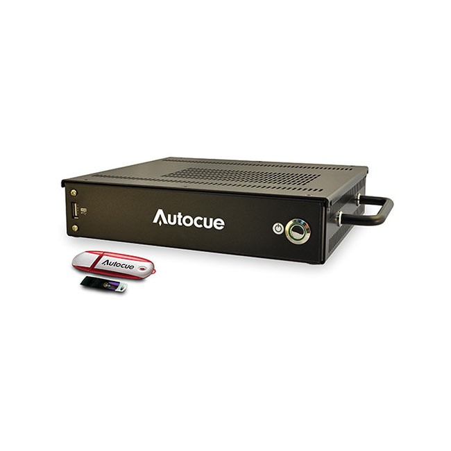 Autocue QMaster Prompting Software and QBox Package with Multi Button Controller