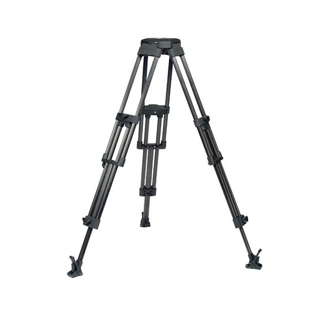 Vinten Two-Stage Aluminum Pozi-Loc EFP Tripod - 100mm Bowl (Black)