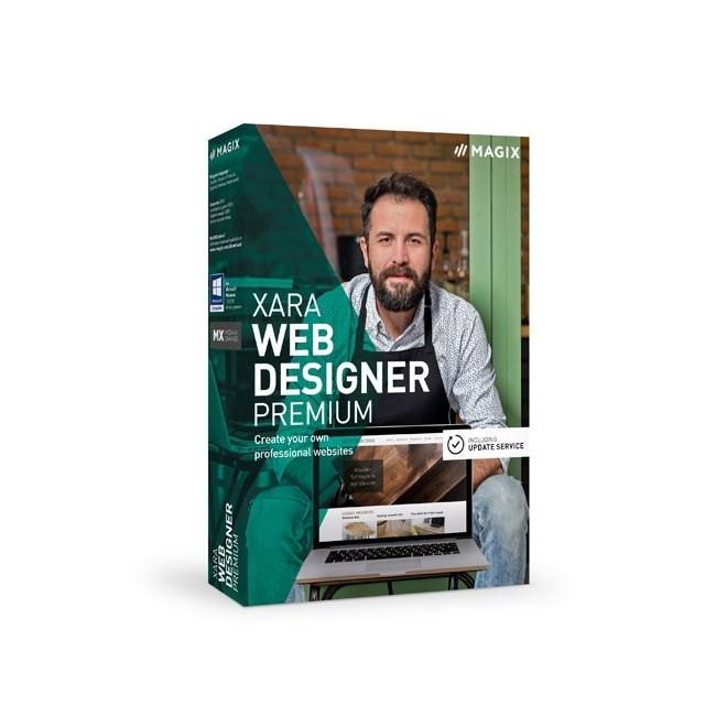 Magix Xara Web Designer Premium 16 ESD