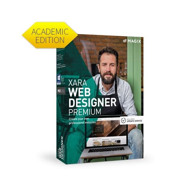 Magix Xara Web Designer Premium 16 - Academic ESD