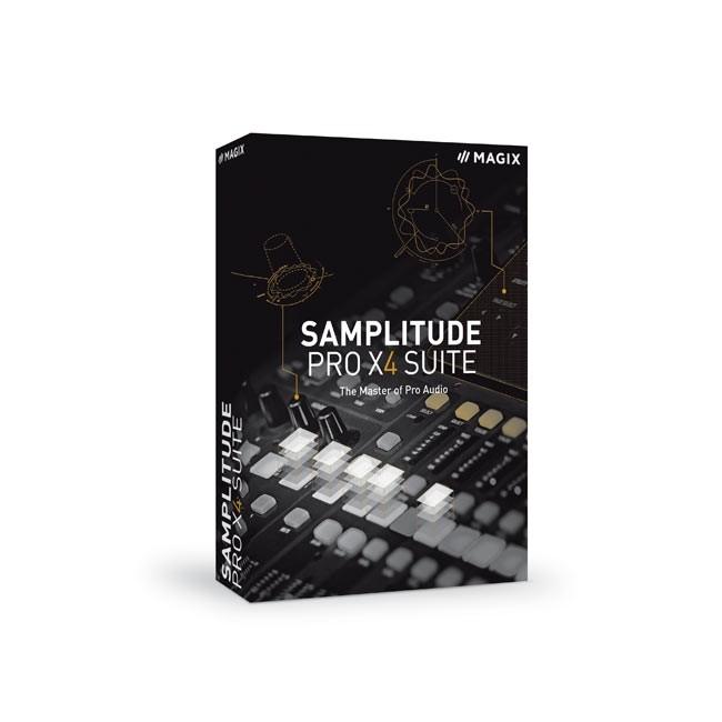 Magix Samplitude Pro X4 Suite ESD