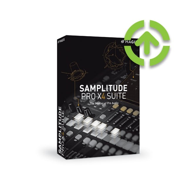 Magix Samplitude Pro X4 Suite (Upgrade) ESD