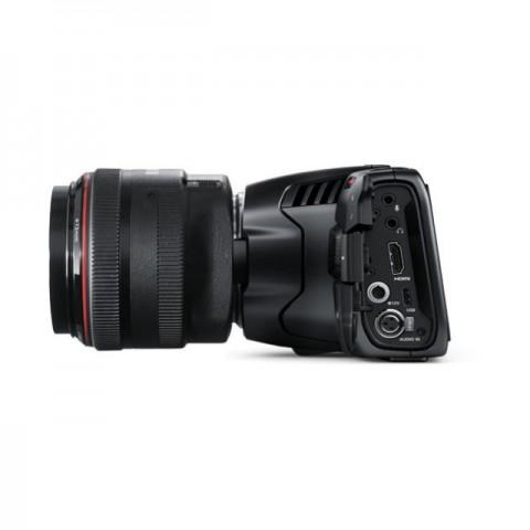 Blackmagic Design Pocket Cinema Camera 6K & Azden Compact Cine Mic Bundle