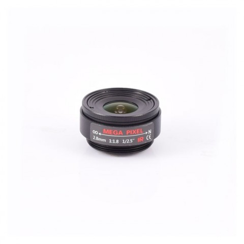 AIDA Imaging CS Mount 2.8mm Fixed Focal Mega-Pixel Lens