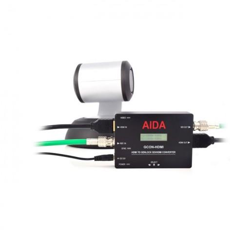 AIDA Imaging HDMI to Genlock SDI/HDMI Converter