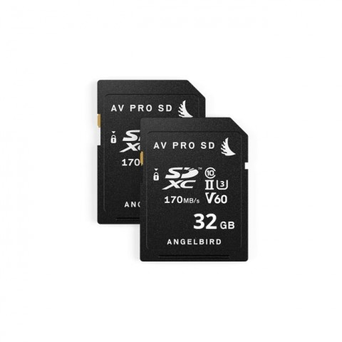 Angelbird AVpro SD 32GB V60 (2-Pack)