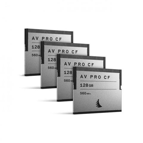 Angelbird AVpro CFast 128GB (4 Pack)