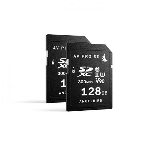 Angelbird AVpro SD MK2 128GB V90 (2 Pack)