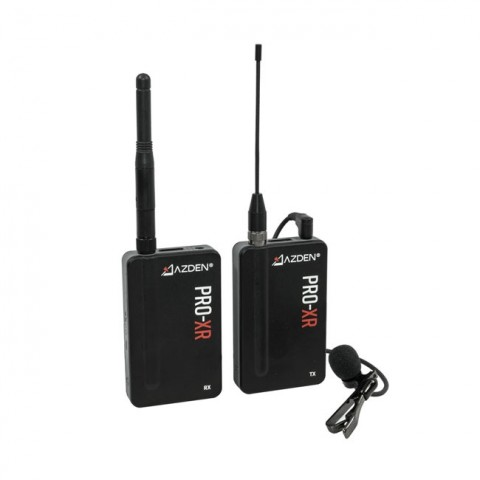 Azden PRO-XR 2.4GHz Digital Wireless Mic System with Signal Redundancy