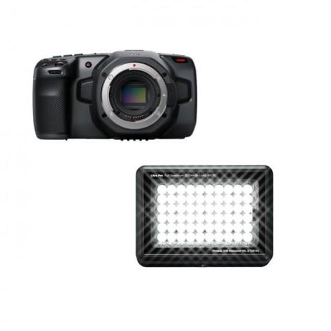 Blackmagic Design Pocket Cinema Camera 6K & Litra Pro Kit