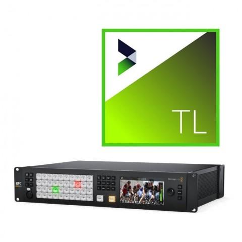 Blackmagic Design ATEM Constellation 8K & NewBlue Titler Live 4 Broadcast Bundle