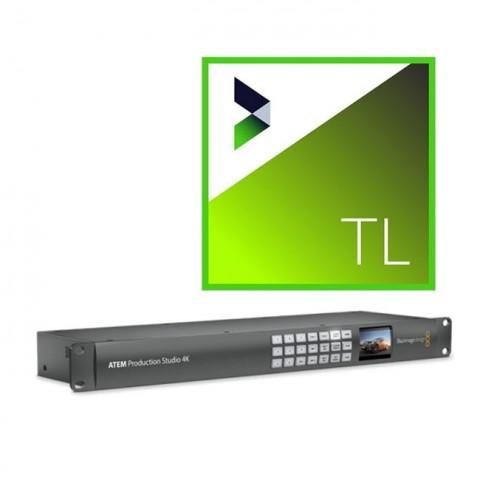 Blackmagic Design ATEM Production Studio 4K & NewBlue Titler Live 4 Complete Bundle
