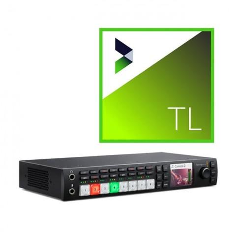 Blackmagic Design ATEM Television Studio HD & NewBlue Titler Live 4 Present Bundle