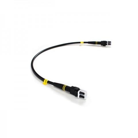 FieldCast 2C SM Jumper Duplex Patch Cable (0.40m Black)