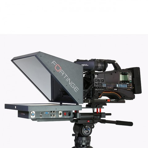 Fortinge ERA 17 17'' Studio Prompter Set with SDI Input & Output, Tally & Talent Monitor