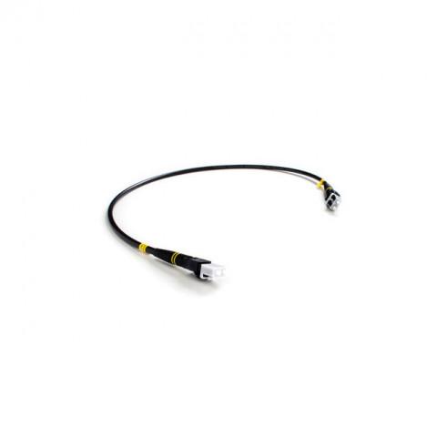 FieldCast 2C SM Jumper Duplex Patch Cable (0.60m Black)