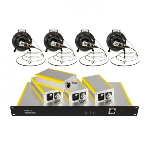 FieldCast Fiber Dock System One (for 4 PTZ Cameras)