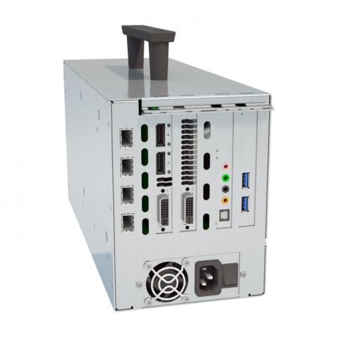 Cubix Xpander Fibernode (with 4 xcvr, AMD FirePro W4100, Audio, 2xUSB, HIC)