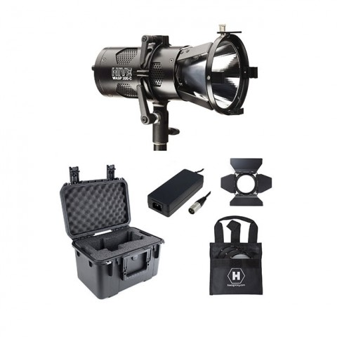 Hive Lighting Wasp 100-C LED Spot1 Light Kit with Case (Custom Foam)
