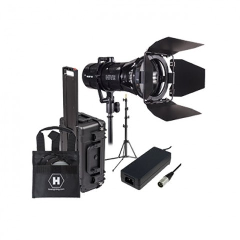 Hive Lighting Wasp 100-C LED Spot 1 Light Travel Kit with Stand and Case (Custom Foam and Padded Dividers)