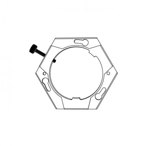 Hive Lighting Wasp 100-C Source Four Mini Adapter Plate
