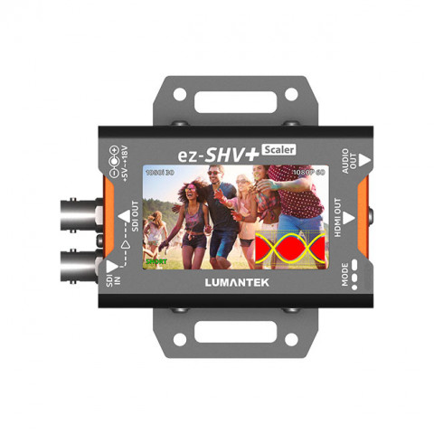 Lumantek SDI to HDMI Converter with Display and Scaler